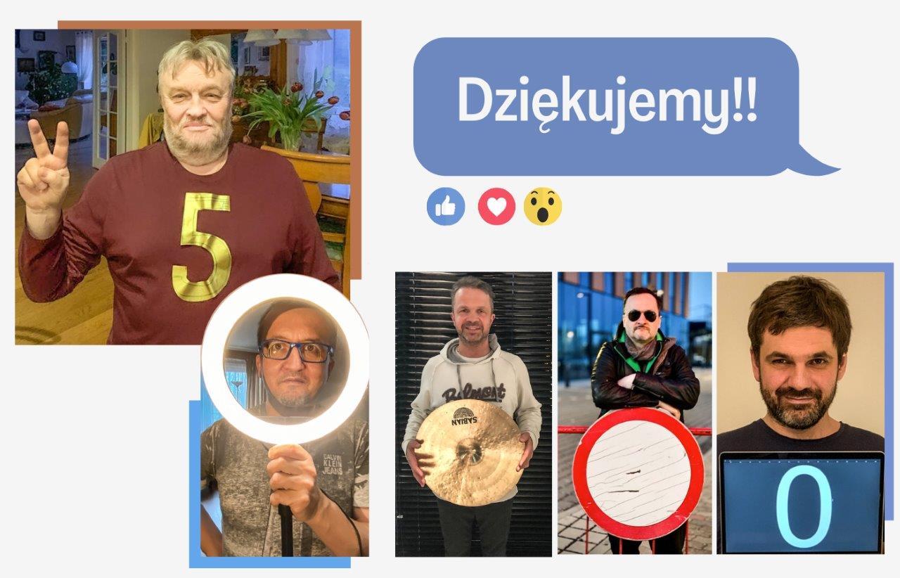 """Krzysztofowi Cugowskiemu """"stuknęło"""" 50 tys. ! 😊"""