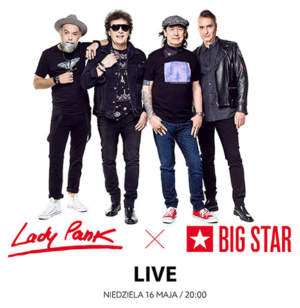 LADY PANK x BIG STAR / Live
