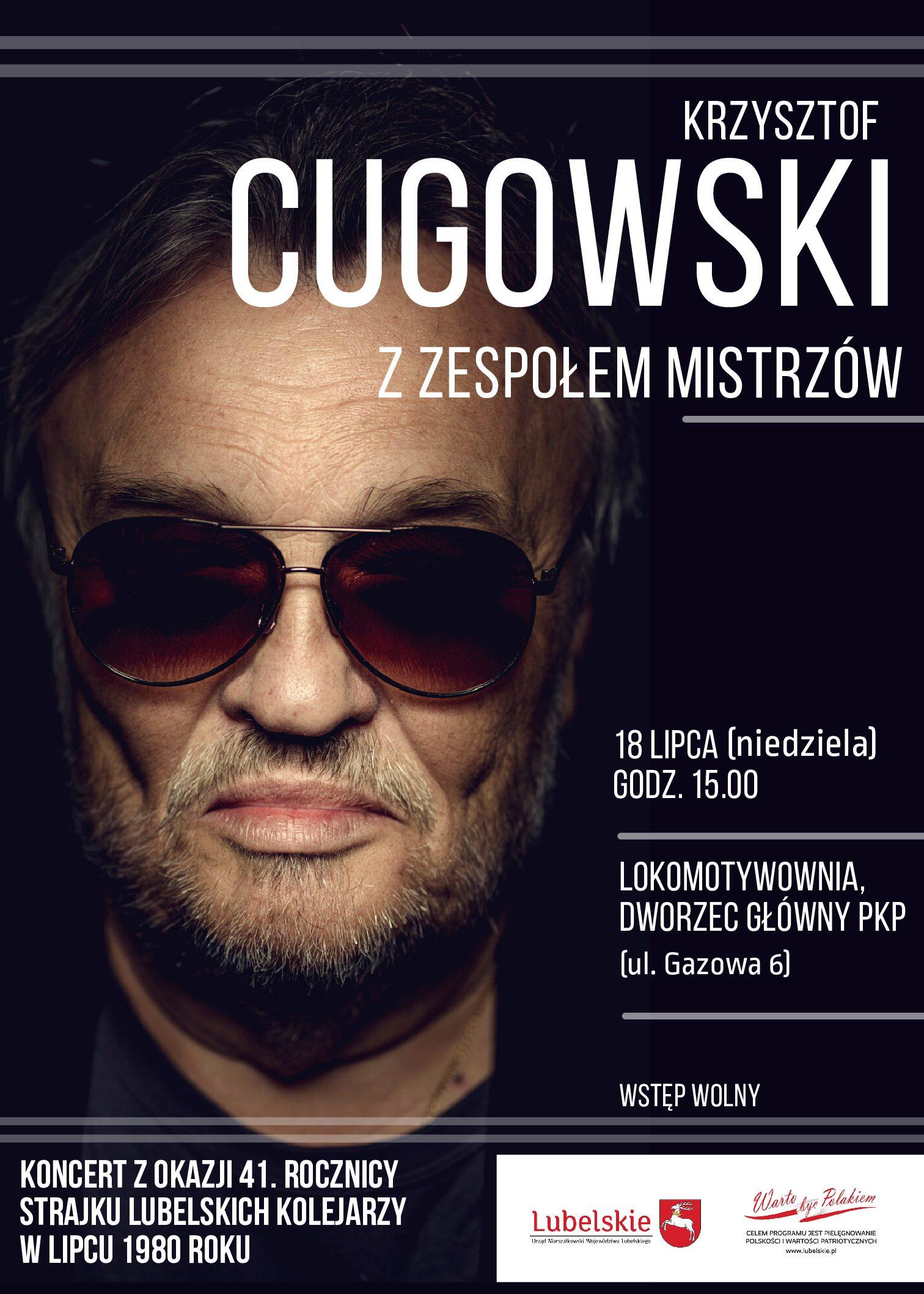 Koncert Krzysztofa Cugowskiego w Lublinie